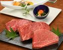 ≪鉄板焼≫特選銘柄牛ランチコース(米沢牛フィレ)