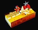 2021年 クリスマスケーキ 『ピスト・ド・ノエル ~クリスマスの滑走路~』