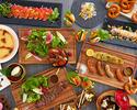 Lunch semi-buffet *90-minute limit (Weekdays) JPY3800