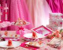 girl's pink strawberry tea party(大人)