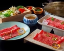 [Regular price (dinner)] Special beef shabu-shabu [OHMI beef] 17,000 yen