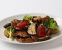 【お勧めランチ】牛肉と彩り野菜の黒胡椒炒め