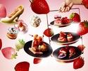 [Regular price] White strawberry afternoon tea set 11,500 yen