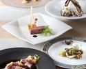 1・2月【フリードリンク付】 前菜2品含む全6品プリフィクスディナー!