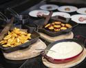 【12月:土日祝】ディナー!オープンキッチンからの出来立て料理が大人気!