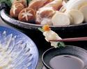 トラフグのふく刺しや胡麻さば、ふくちり鍋などをご堪能頂ける博多の特別会席