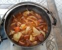 """Winter limited Campbell can plan Pot-au-feu made with minestrone can * Please select """"3 hours"""" for the above stay time"""