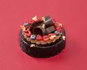 【早割】クリスマスケーキ ~ショコラ ・ フランボワーズ ・ エレガン 15㎝ ~