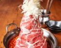 ≪肉肉肉×29鍋食べ放題♪テラス席≫★名物肉盛りタワー鍋プレミアムコース6品【2H飲放付】3980円(税込)