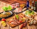 【肉三昧忘年会コース】たっぷり5時間/飲み放題/料理5品/前菜からメインまで肉尽くし