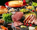 Dinner buffet with Oedo Onsen admission ticket