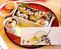 """Advanced Purchase [Unkai] Takeout """"New Year Osechi Box"""" 9,500yen"""