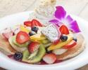 選べる!【パンケーキプラン】お好きなパンケーキが選べる♪サラダ、ポテトやスパムむすびも!食後のカフェ付き¥1,950(税抜)
