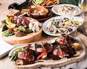 フォアグラと牛ヘレ肉のロッシー二&兵庫県赤穂産の牡蠣尽くし