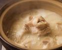 【お食事に】自慢の炭火焼き鳥と濃厚白濁水炊きなど9品 3300円(税込)