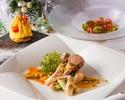 【カジュアルランチに】SEASONLunch☆季節野菜を使用した前菜や大人気のパイ包みスープが含まれた選べるランチコース!