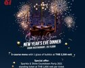 NYE Special Dinner_5 Course Menu with 1 Sparkling Wine per person
