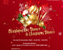 Christmas Special Dinner 5-course menu with mulled wine per person_Regular seating