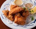 【シェアコースC】牛リブステーキや白身魚のムニエルなど 全8品