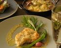 【平日限定ランチコース★15時まで滞在OK】前菜・ラクサスープ・魚介パスタ・肉料理&魚料理の選べるメインなど全5皿