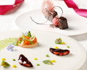 Atelier counter dining Valentine & White day course