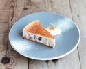 【デリバリー】ラムレーズンのチーズケーキ