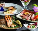 [JA石川×ANA金沢]地元食材応援ディナーコース(ずわい蟹足+能登牛サーロイン)