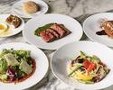 【平日限定LUNCH COURSE】牛肉のブレザオラや選べるパスタ・メイン・デザートが付いた全4品