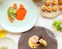 【web予約限定10%OFF!!】DINNERショートコース】肉魚のWメインなど全5品