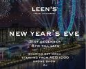 NYE MENU - Alcoholic Package - Unlimited house beverages  & Prosecco