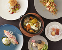 【Online Only & Limited tables】Prefix lunch course 4 plates