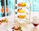 ◇【3段ティースタンド付ランチ】乾杯ロゼ&カフェフリー!アフタヌーンスタイルを愉しむレディースランチ!