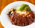 【おうちdeホテルグルメ】牛肉のステーキ丼