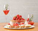 【Weekdays only】Strawberry Hevenly tea with Strawberry Mocktail - Online Special Offer