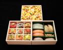 【期間限定】豪華海鮮三段重弁当(ちらし御飯)