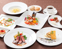 【Lunch Course】Ie dejeuner SoIeil ~太陽(ソレイユ)~ 6,000円(税別)【料理6品】