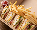 【To Go】Clubhouse sandwich