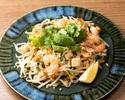 "Pad Thai-Thai style stir fried ""yakisoba"" noodles"