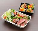 【テイクアウト】選べるメイン+お惣菜BOX