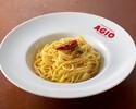 【テイクアウト】ニンニクと赤唐辛子のスパゲティーニ ペペロンチーノ