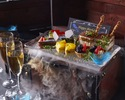6,000円 【Pコース】玉手箱デザート『プレミアムコース』特別な日に豪華食材で(1人1皿フルコース)