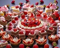 Strawberry sweets order buffet (under elementary school age)