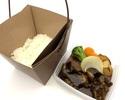 【香林テイクアウト・デリバリー】牛バラ肉の醤油煮込み丼