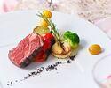 【お祝いランチに最適】乾杯スパークリングワイン付!国産牛フィレ+特別な日を彩るアニバーサリーケーキ 贅沢ランチ 全5品
