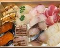 【テイクアウト】 弁慶特製 寿司2合折(16貫)