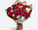 24 pc Rose & Carnation