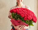 ◆《100本の薔薇の花束と共に2人の特別な日を》伊勢海老と黒毛和牛ディナー