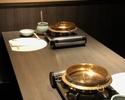 お鍋のコース「だし鍋」【7品 】・・・1人鍋プラン(4名さま迄)