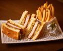 ◆選べるハンバーガーやサンドイッチ ワンドリンク付