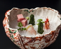 【Lunch/For 1 person limited】FUJI -Kaiseki 7 courses-+Window-table+Gift
